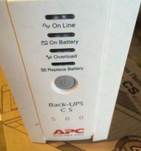 APC Back-UPS CS 500VA Новый