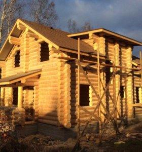 Деревянный дом под ключ из Вологды.