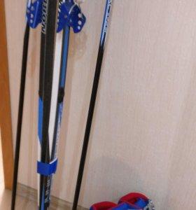 Лыжи . комплект 170