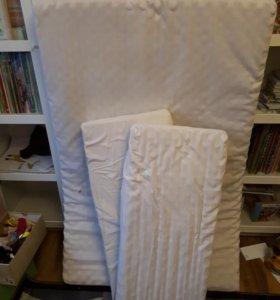 Матрас Икея для детской раздвижной кровати