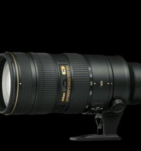 Nikon nikkor 70-200 f2.8 vr ii