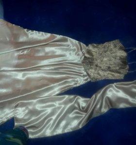 Платье вечернее на корсете