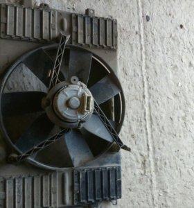 Вентилятор пассат б3