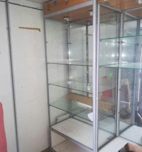 Шкафы стекляные