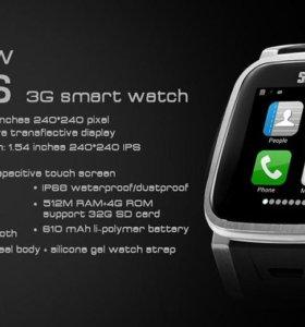 Часы-андроид-смартфон, полностью водозащищены