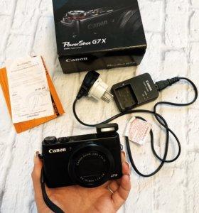 Компактный Фотоаппарат CANON G7X powershot