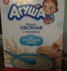 Агуша Каша Овсяная с молоком с 5 месяцев