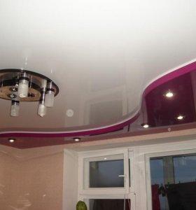 Монтируем натяжные потолки и под окраску