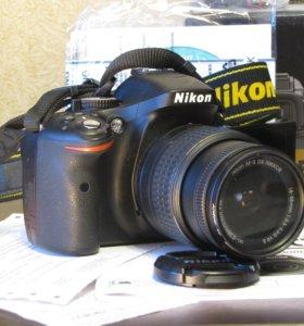 Nikon D5200 18-55мм VR II kit