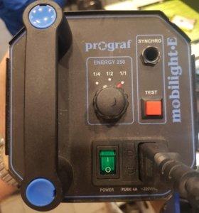 Студийная вспышка, импульсный свет Prograf Mobilig