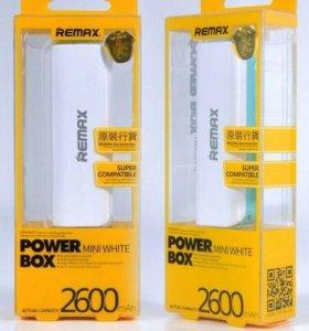 Powerbank remax 2600mah