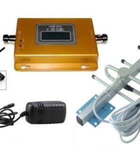 Комплект усиления сотовой связи GSM-980 до 200м2