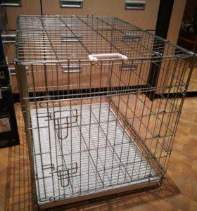 Клетка для собаки с поддоном