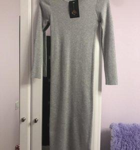 Трикотажное платье,новое!