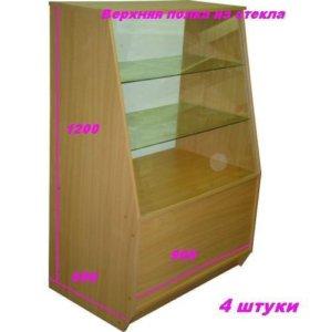 6 смотровых витрин