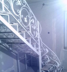 Кованые лестницы. От А до Я.