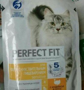 Корм Perfect fit кошки с чувствительным пищеварени
