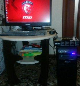 Игровой компьютер Intel Core i5 полный комплект!