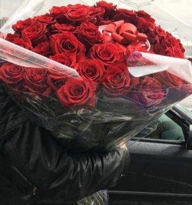 Розы букеты цветы на новый год 2018