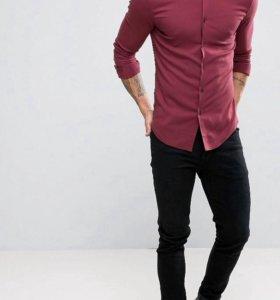 Asos супер облигающая рубашка