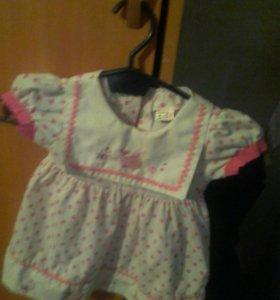 Платье для девочек 1 год
