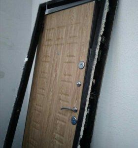 Дверь входная с новостройки