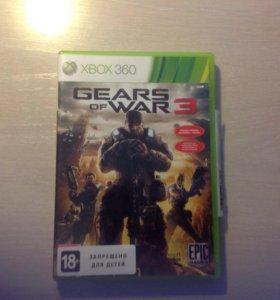 Продам Gear of war 3 на Xbox 360