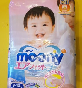 Подгузники Moony (L)