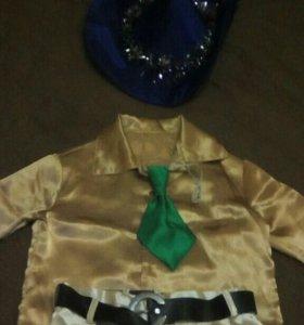 Новогодний костюм ( незнайка)