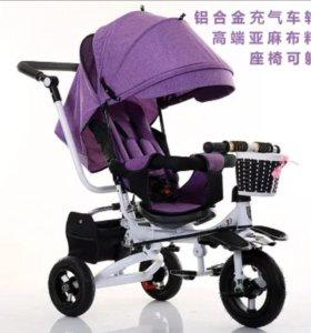 Велосипед (трёхколёсный велосипед-коляска)