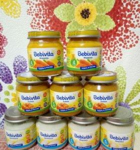 Детское питание,пюре Bebivita