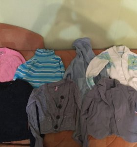 Одежда для девочки мешком 8-9 лет