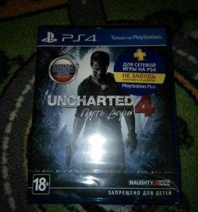 Uncharted 4 путь вора ps4 в пленке