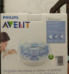 Avent Philips стерилизатор + бутылочки б/у