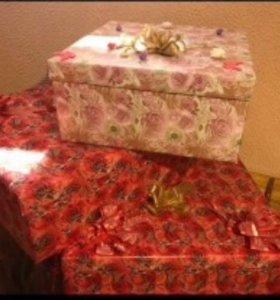 Свадебные коробки
