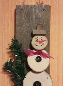 Новогодние сувениры. Подсвечник. Панно- снеговик.