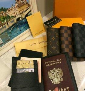 Обложка доя паспорта Lv в фирменной упаковке