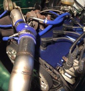 Турбо мотор на Ваз 400+ л.с.