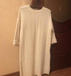 Вязаное платье Bershka
