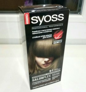 Новая Крем-краска Syoss Permanent Coloration