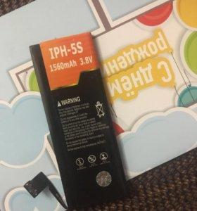 Батарея для айфон 5s