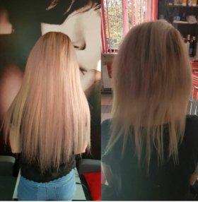 Наращивание волос  15р прядь!