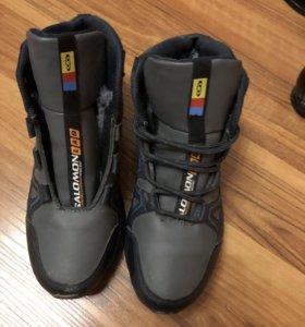 Зимние ботинки Salamon