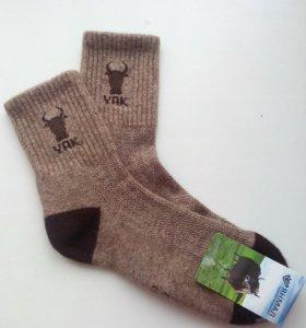 Монгольские носки из шерсти яка, верблюда