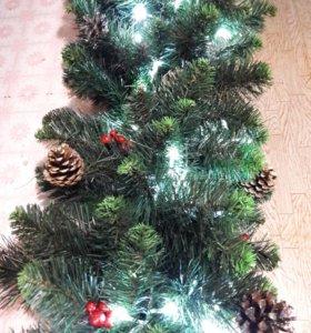 Новогодний декор,елки