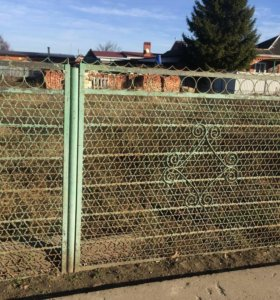 Забор секции