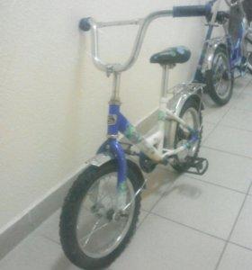"Велосипед 14"" стелс на 4-6 годигов"