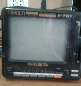 Продам переносной телевизор Elekta.