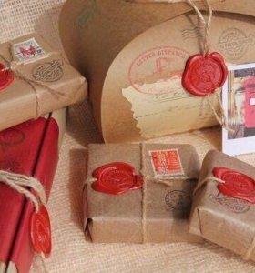 Упаковка подарков хенд мейд