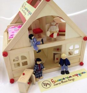 Кукольный домик новый